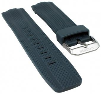 Calypso Watches Uhrenarmband Kunststoff Band grau mit Struktur für Modell K5704/6
