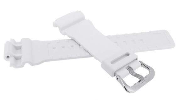 Casio G- Shock Ersatzband weiß Resin Band Schließe silberfarben GA-800SC-7A > GA-800SC - Vorschau 2
