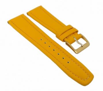 Graf Manufaktur Montana Uhrenarmband Walknappa Band Gelb 26378G