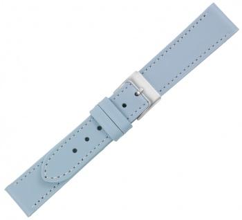 Minott Ersatzband Kalbsleder blau Kontrastnaht versiegelte Kante Made in Europa