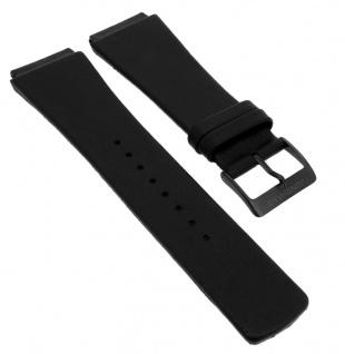 Junghans Futura Uhrenarmband Spezial Anstoß Leder schwarz 420/5060.28 026/4104