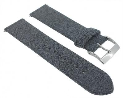 Junghans Max-Bill Ersatzband 20mm Materialmix grau meliert 027/4800 027/3500