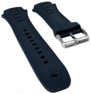 Calypso Watches Uhrenarmband Kunststoff Band blau mit Struktur für Modell K5634/A