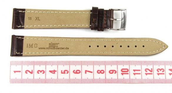 Morellato Bolle XL Uhrenarmband Kalbsleder Band Dunkelbraun 18mm