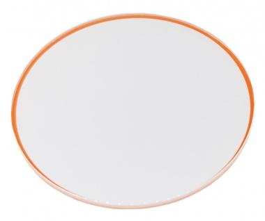 Skagen Balder Chronograph Ersatzglas Mineralglas mit orangem Rand SKW6076