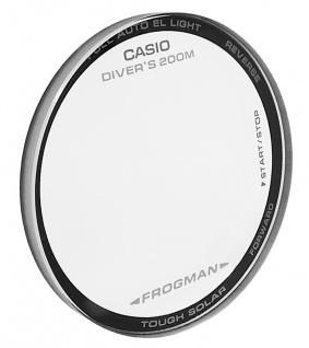 Casio G-Shock Mineral Ersatzglas rund schwarzer Rand GF-8250ER-2 GF-8250ER