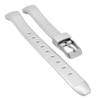 Calypso Digital Uhrenarmband Kunststoff silberfarben Schließe silberfarben K5738/1 K5738