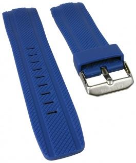 Calypso Watches Uhrenarmband Kunststoff Band blau mit Struktur für Modell K5704/3