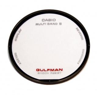 Casio Ersatzglas Uhrenglas Mineralglas Rund für GW-9100 10268217
