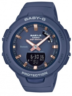 Casio Baby-G Armbanduhr Damen digital | Bluetooth Smart | Step Tracker BSA-B100-2ER