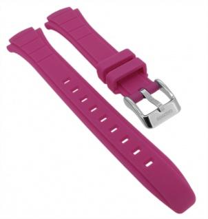Calypso Ersatzband aus Kunststoff in rosa mit Schließe silberfarben Spezial Anstoß K5756/6 K5756