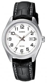 Casio Collection Damenuhr LTP-1302L-7BVEF Lederarmband 5 Bar