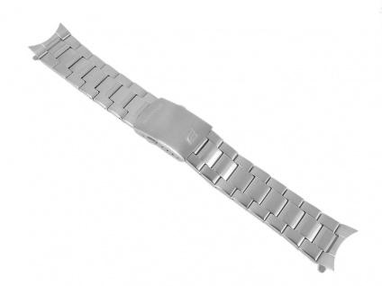 Casio Armband Uhrenarmband Edelstahl Band Silberfarben für Edifice EFR-504D