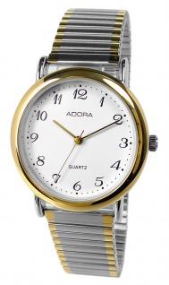 Armbanduhr | Quartzuhr aus Edelstahl | Zugband & Gehäuse > bicolor | Ø 34mm