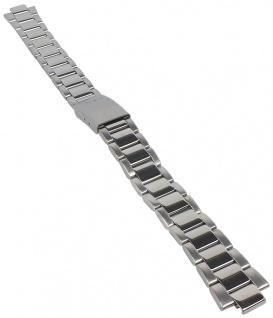 Casio Armband | Uhrenarmband Edelstahl Band Silberfarben Collection LTP-1253D