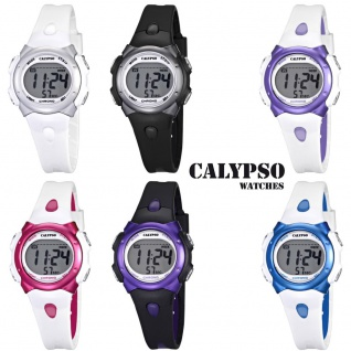 Calypso Damenarmbanduhr Quarzuhr Kunststoffuhr mit Polyurethanband Alarm-Chronograph digital alle Modelle K5609