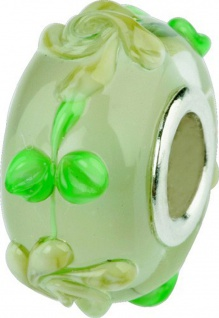 Charlot Borgen Marken Damen Bead Beads Drops Kristallglas Silberkern GPS-49Beige
