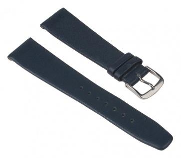 Minott Uhrenarmband Kalbsleder Band Blau 26221S