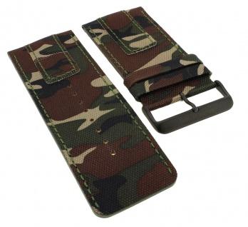 Bruno Banani Proteus Ersatzband Leder camouflage XP3 959 359 BR20820 BR20823 BR20821