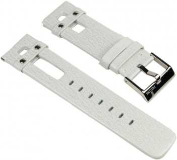 Festina Uhrenarmband Leder Band 22mm Weiß für Festina Milano F16308/1