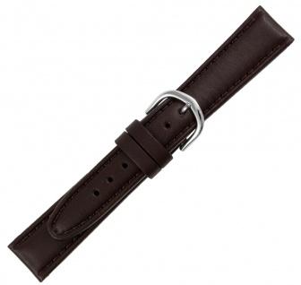Adora Cathay Ersatzband 14mm braun Leder gepolstert AB6000 Ton in Ton Naht