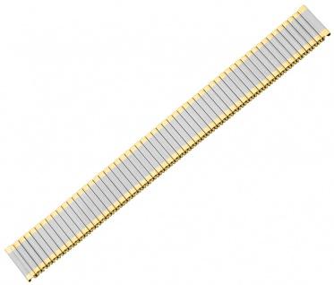 Minott Zugflexiband Edelstahl/PVD bicolor matt/glänzend gleichlaufend