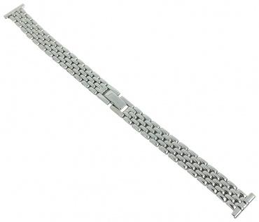 Minott Uhrenarmband 14mm Damen Edelstahl Band silberfarben 29689S