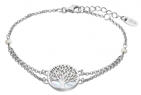 Lotus Silver TREE OF LIFE Armschmuck 925er Sterlingsilber Lebensbaum LP1678-2/1