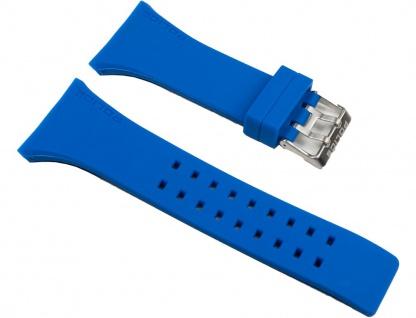Police Vantage Uhrenarmband Kautschuk Band Blau für P13077MPBLS-08