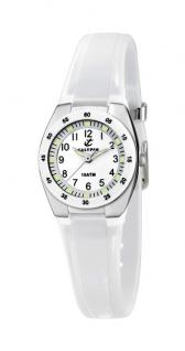 Calypso Armbanduhr Kinderuhr Analoguhr Quarz Weiss K6043/A