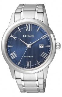 Solaruhr Citizen Eco-Drive Sports Herrenuhr Armbanduhr mit Edelstahlarmband und Gehäuse AW1231-58