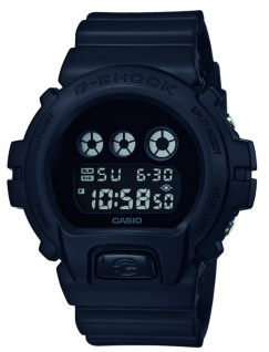 Casio G-Shock Digitale Herrenuhr DW-6900BBA-1ER in schwarz mit Multifunktionsalarm