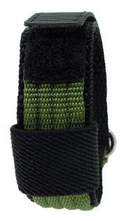 s.Oliver Ersatzband 15mm Klettverschluß schwarz / grün Nylon SO-1264-LQ
