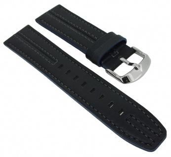 Casio Edifice Chronograph Ersatzband 22mm schwarz Leder EFR-566BL-2AV