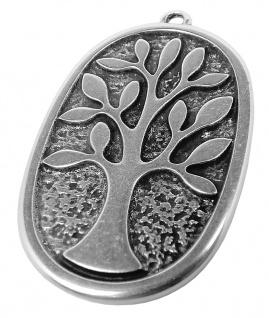 Minott Schmuck Anhänger Baum aus Messing im Used Look 30669