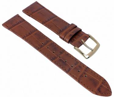 Citizen Elegance Ersatzband Leder 19mm braun Ton-in-Ton Naht AR1133-15A AR1133