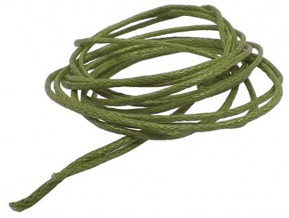 Minott Schnur Halskette grünes Band aus Baumwolle Ø 0, 9mm > L 100cm 39466