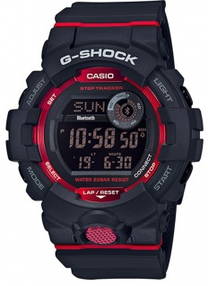 Casio G-Shock SQUAD Digitale Bluetooth® Smart Herrenuhr GBD-800-1ER mit Step Tracker