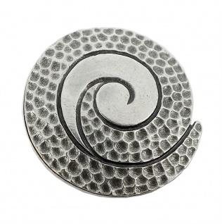 Minott Kette Schmuck Anhänger Spirale Messing im Used Look 27988