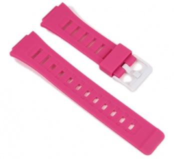 Casio Uhrenarmband Resin Band pink für SDB-100-4AW