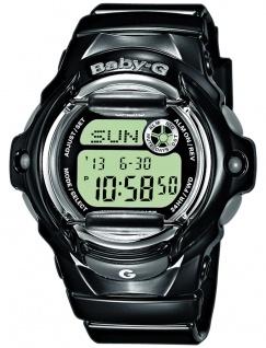 Casio Baby-G digitale Damen Armbanduhr schwarz BG-169R-1ER