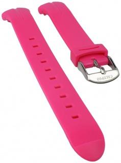 Calypso Watches Uhrenarmband Kunststoff Band glatt pink weich für Modell K5727/5