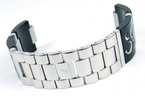 Calypso Damen Uhrenarmband Kunststoff/Edelstahl Band schwarz für Modell K5203/2 K5203/