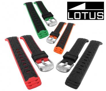 Lotus Ersatzband Uhrenarmband aus PU Kunststoff für Armbanduhr L15422 und L15423 - alle Modelle