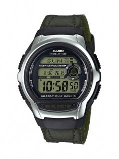 Casio Wave Ceptor Digitale Herrenuhr mit Funksignalempfänger Funktion WV-M60B-9AER