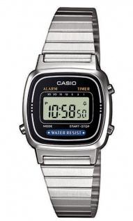 Casio Collection Retro Design Digitale Damenuhr Armbanduhr LA670WEA-1EF