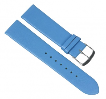 Berlin Uhrenarmband Kalbsleder Band Blau 23239S