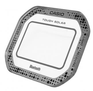 Casio G-Shock Mineral Ersatzglas mit Aufdruck silberfarben GW-B5600DC-1