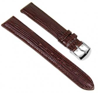 Minott Uhrenarmband Leder Band Braun 18mm 819570700118