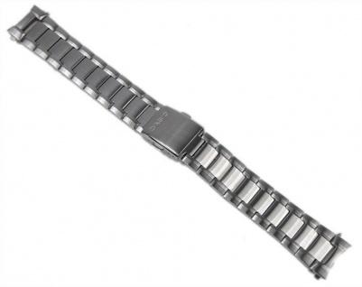 Casio Uhrenarmband Edelstahl Band Silberfarben für BEM-116D